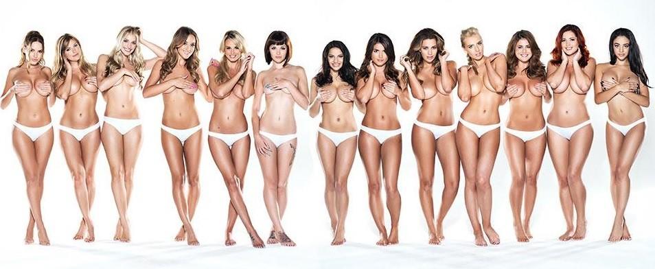 linda lusardi topless christmas photo