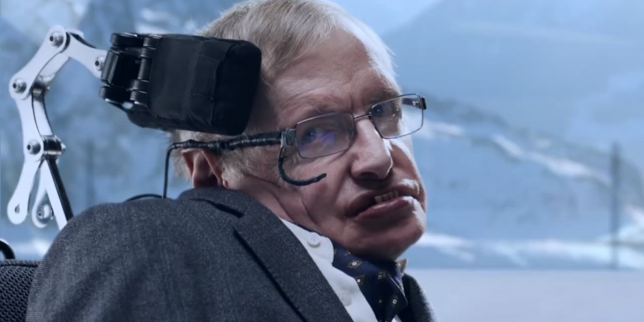 How Stephen Hawking mastered the physics of personal image