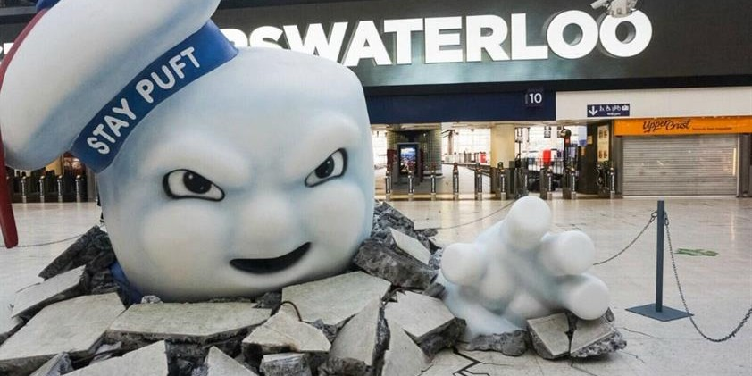 Sony: behind-the-scenes of Waterloo's immersive Ghostbusters campaign