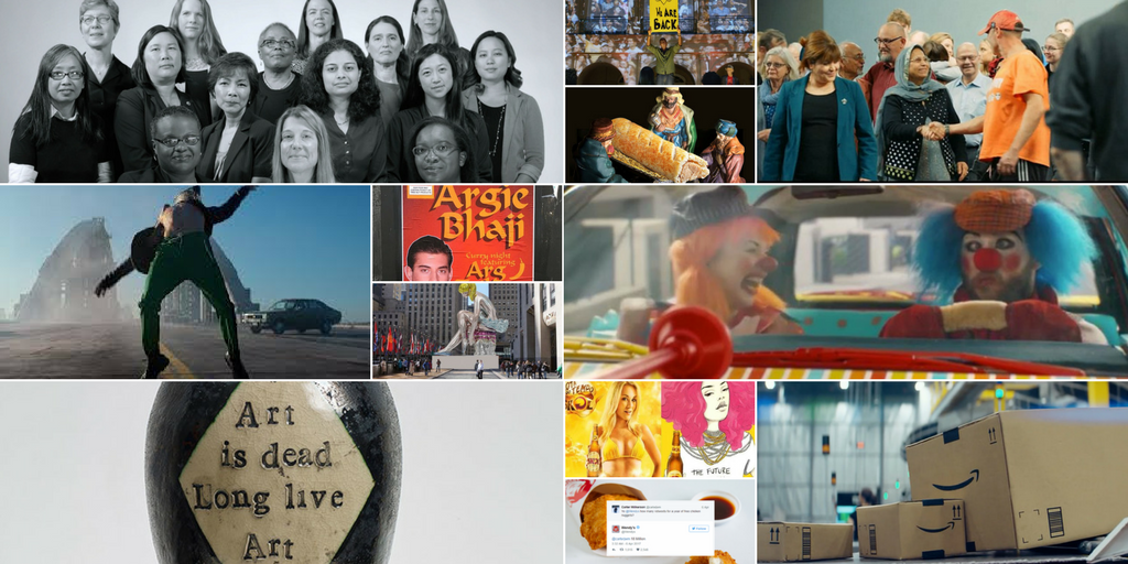 Audi, Boeing, Glasgow School of Art, Jeff Koons and more: top creatives share their favourite work from 2017