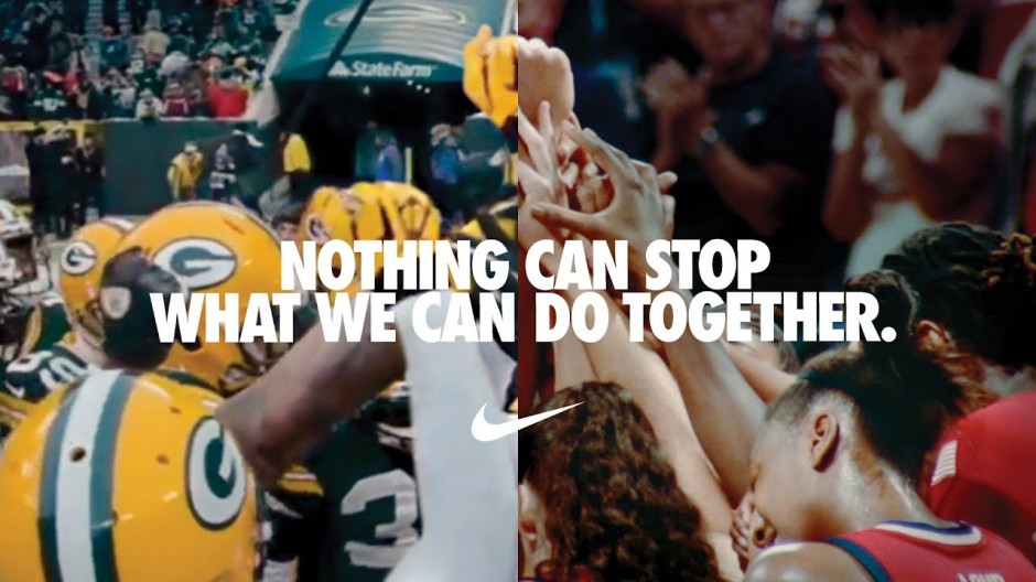 Ads We Like Nike Weaves Together Sporting Footage And Social Justice The Drum