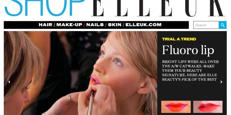 aa74e8d2aac1 Elle magazine launches online beauty store