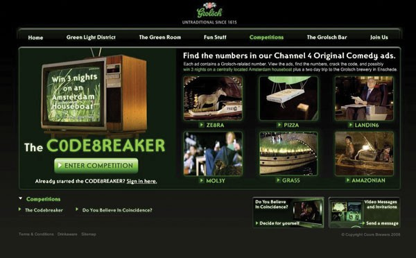 Blonde and Leith in new online Grolsch activity | The Drum