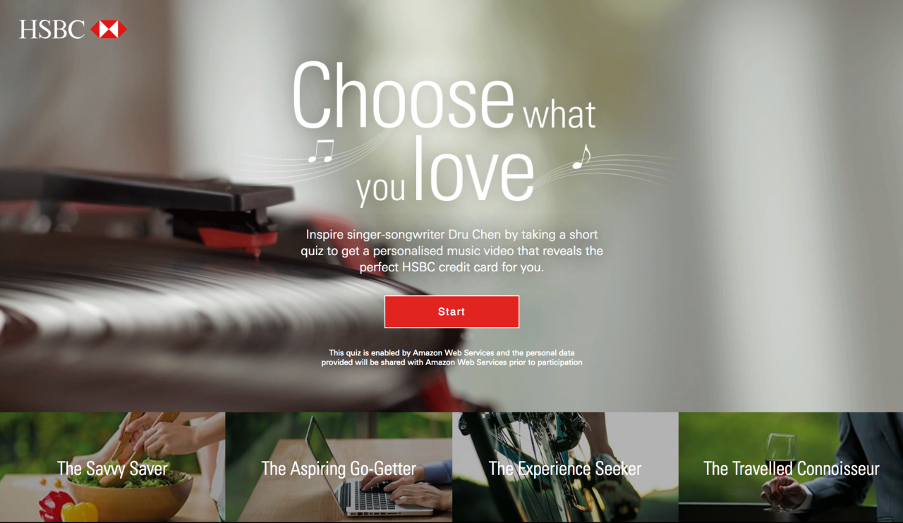 """HSBC: """"Choose What You Love"""" by JWT   Creative Works   The Drum"""