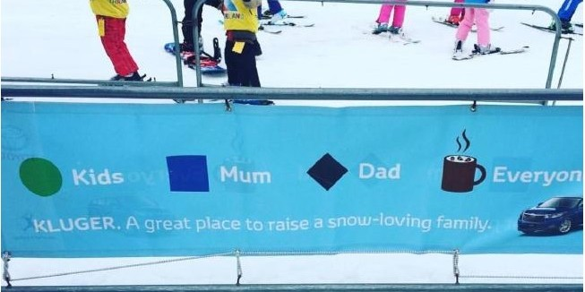 Sexist Toyota banner given cold reception at Australian ski resort ... a0a42fef2