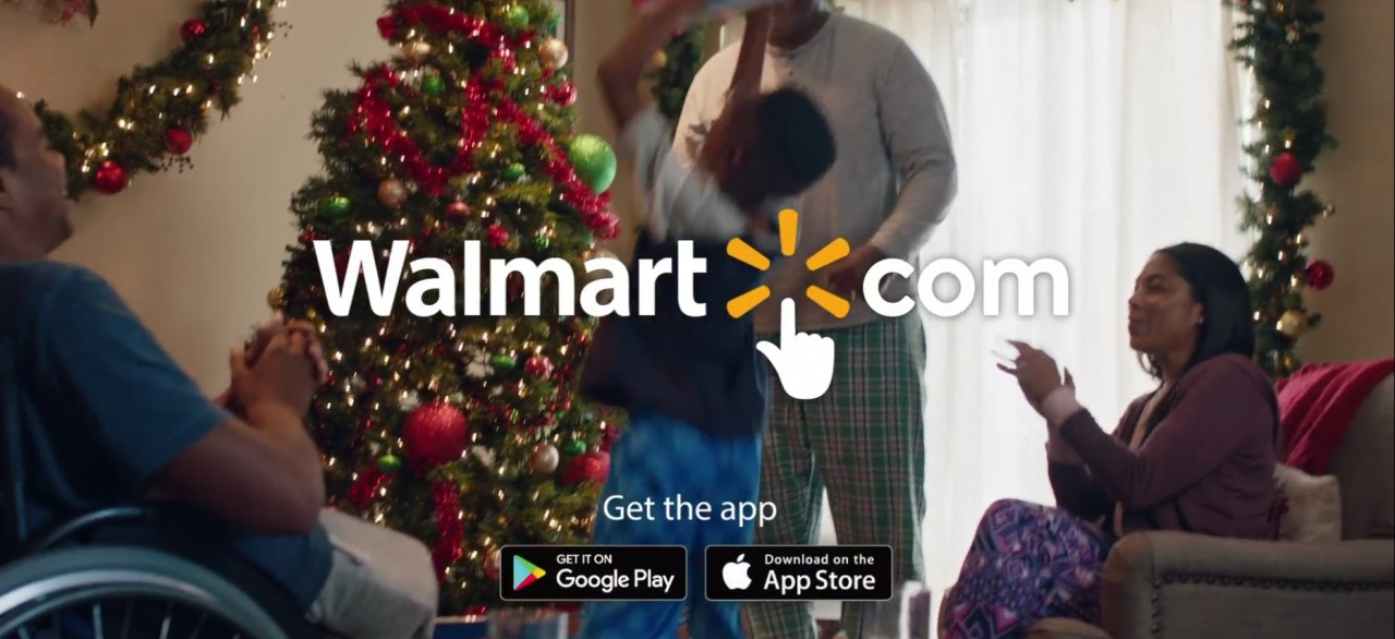 walmart unveils fast paced rock this christmas campaign the drum - Walmart Store Hours Christmas Eve