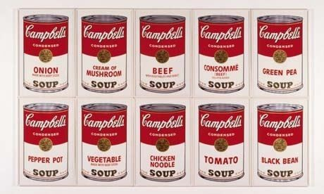 1962 Andy Warhol S Campbell Soup Cans The Drum
