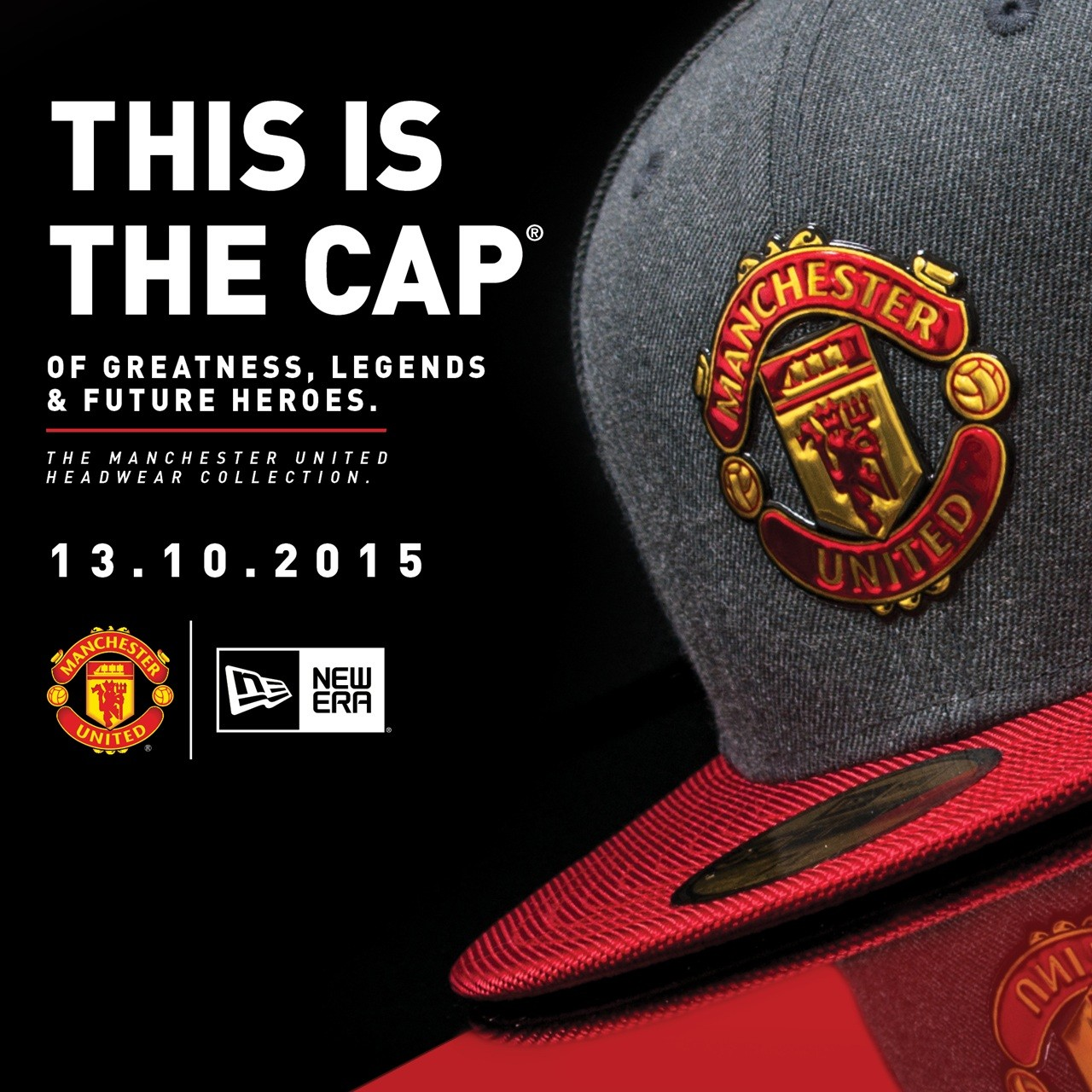 Manchester United Partner With New Era To Launch Headwear
