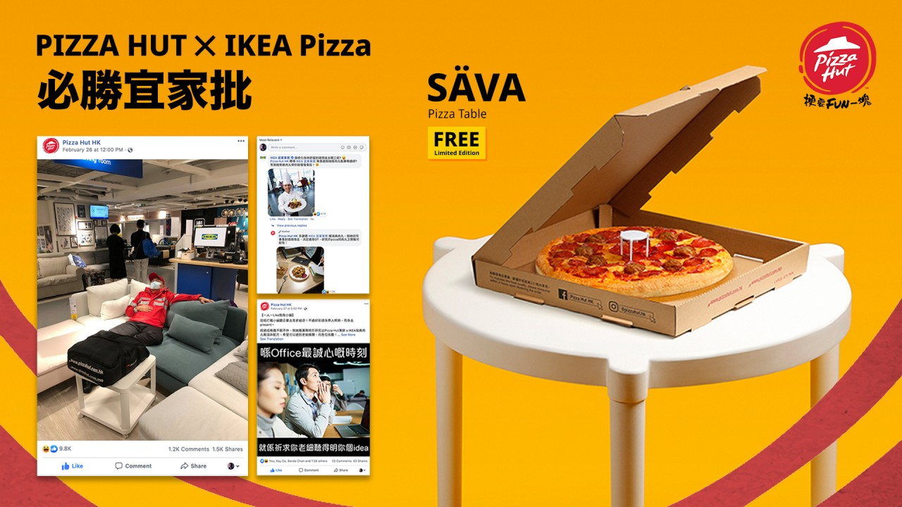 Pizza Hut And Ikea Collaborate On Pizza And Flatpack Products The Drum