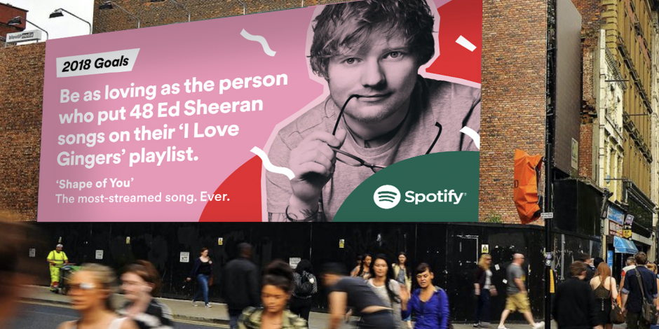 ed sheeran will be featured in spotifys year end campaign - Best Spotify Christmas Playlist