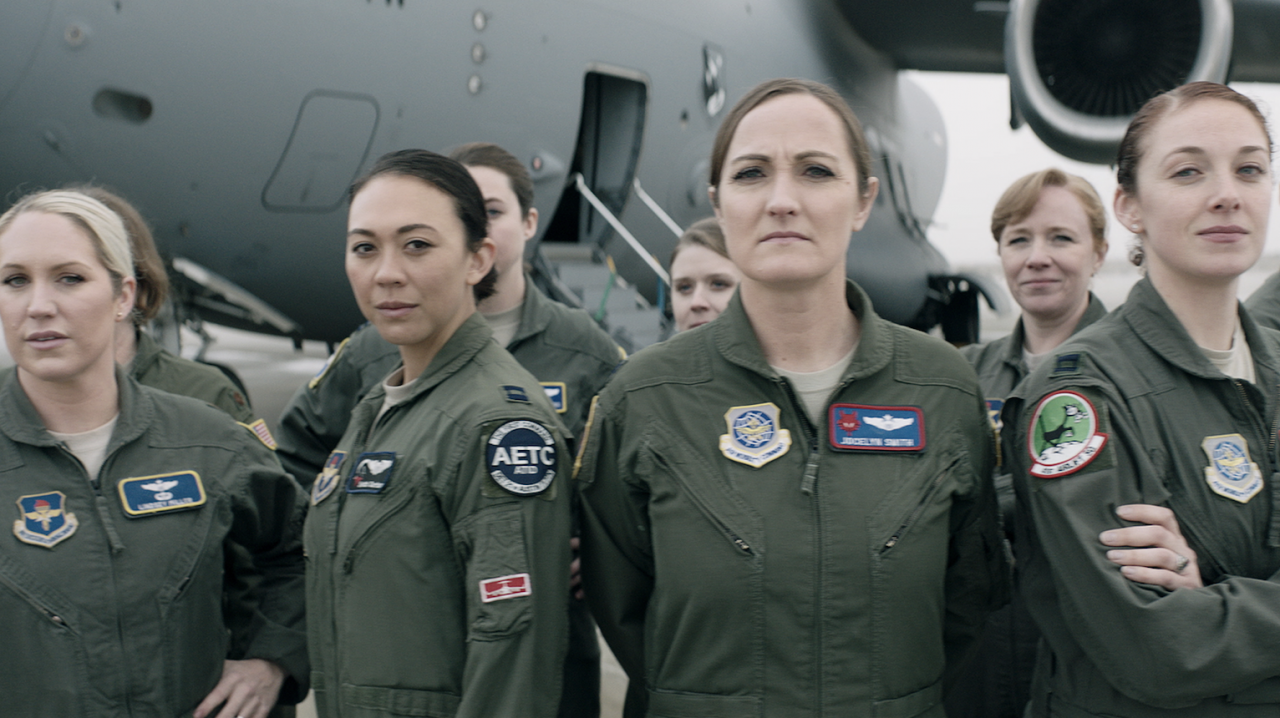 US Air Force promotes women pilots as superheroes in recruitment