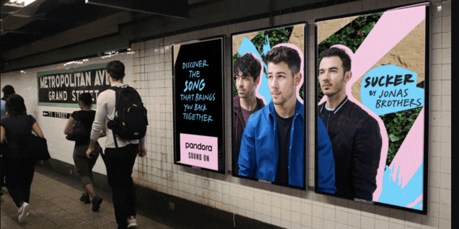 Pandora introduces next wave of 'Sound On' brand campaign