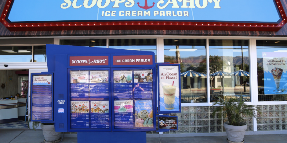 Stranger Things' 'Scoops Ahoy' brought to life by Netflix and Baskin-Robbins