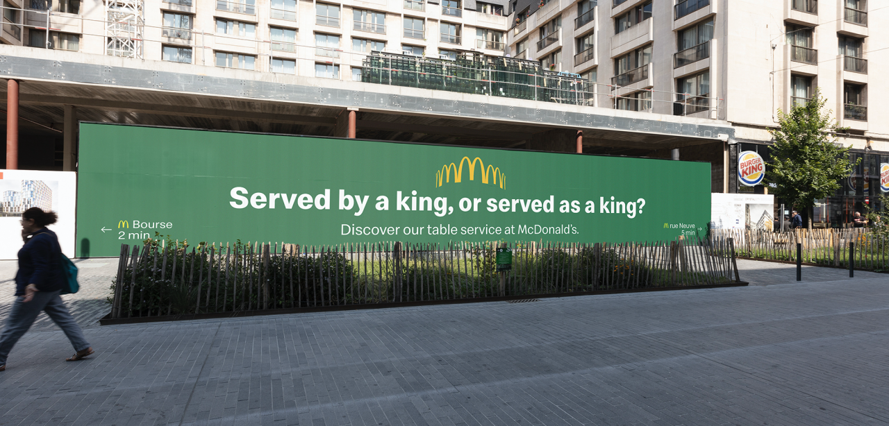 Mcdonald S Trolls New Burger King With