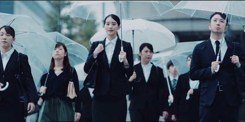 Pantene wants Japanese women to let their hair down when job hunting