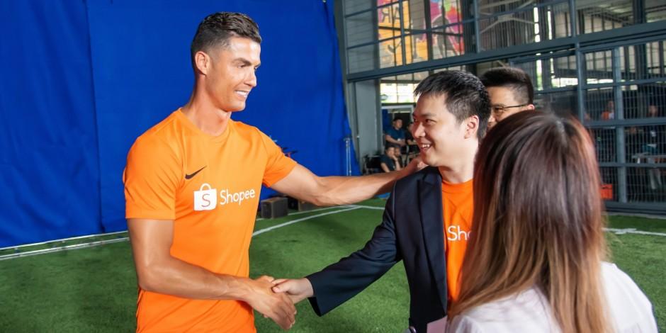 Cristiano Ronaldo taps into e-commerce trends with new Shopee partnership