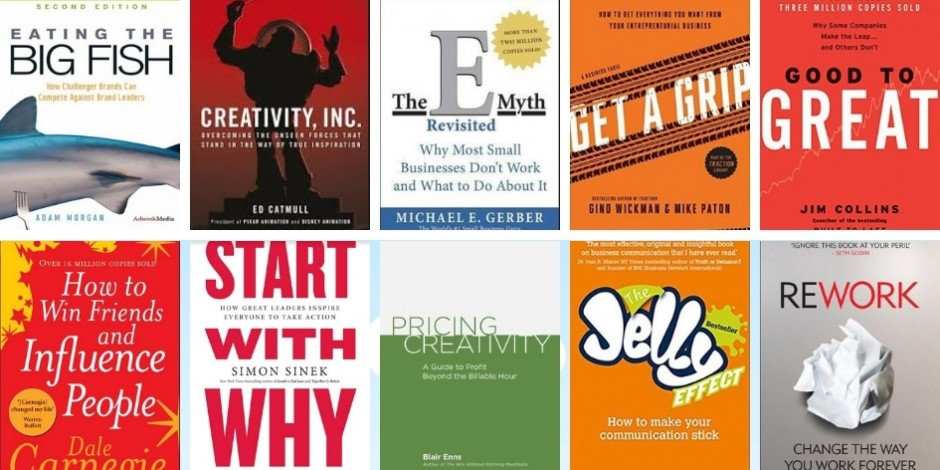 Survey reveals the top ten business books that inspire agency leaders