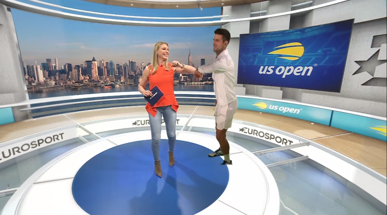 Inside Eurosport's 3D virtual studio: 'If we want to put a brand in there, we can'