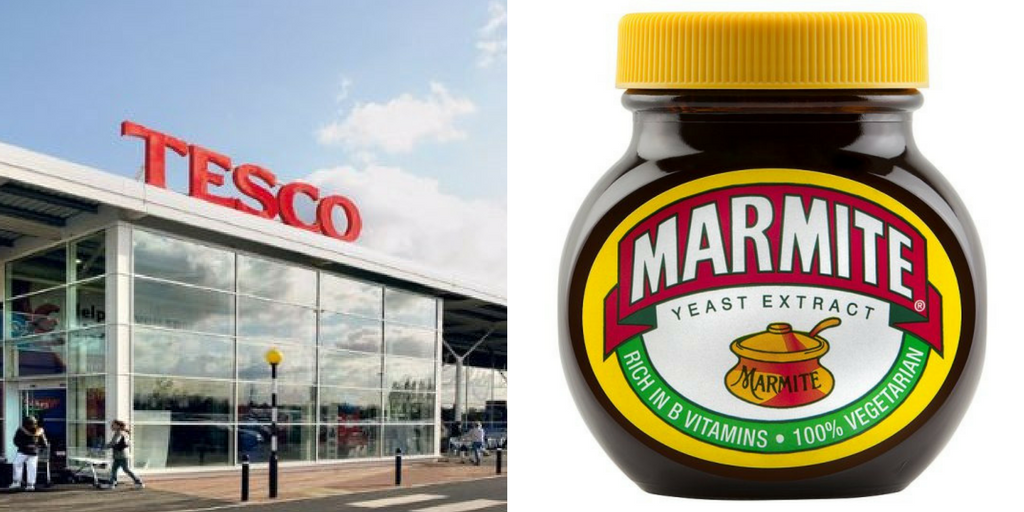 Tesco And Marmite Are The Most Mentioned Brexit Brands For