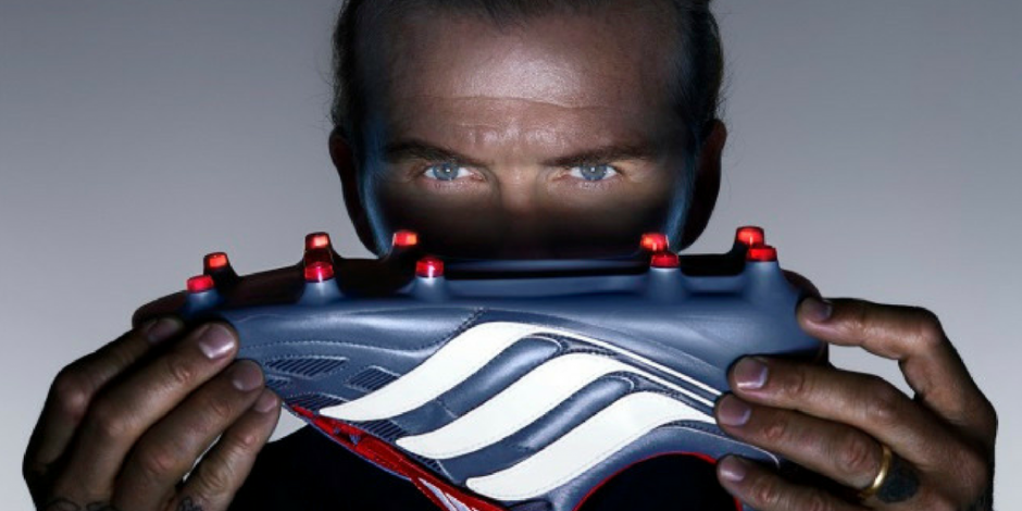 new product fdb0b d0988 Beckham flaunts the new Predator   Nick Knight